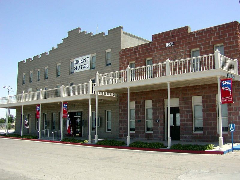 Orient Hotel And Saloon Pecos Texas Usa