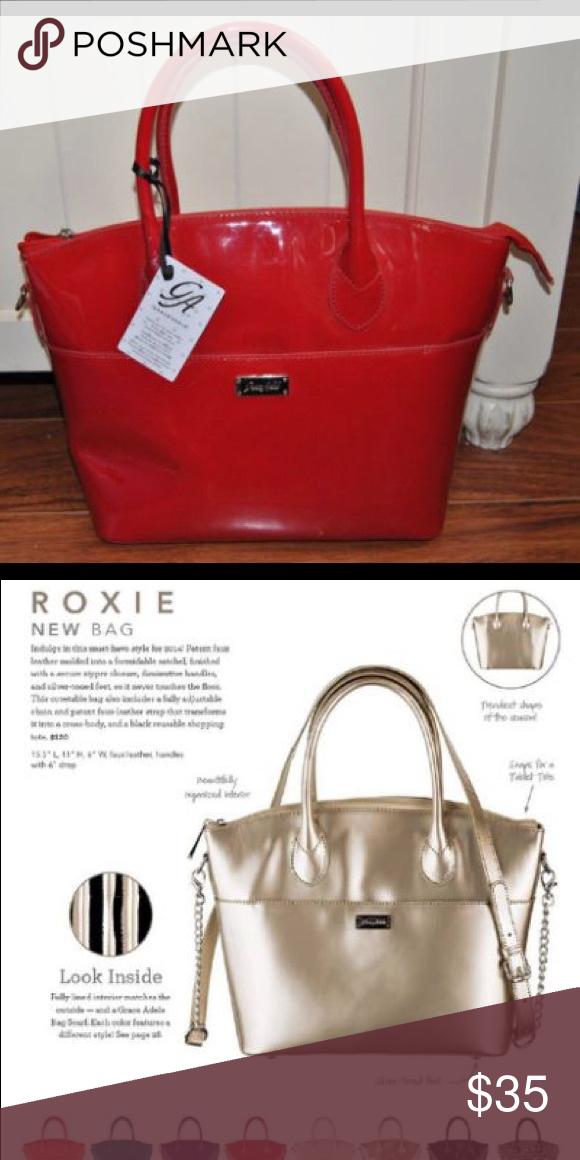 🚨24hr SALE🚨Grace Adele Roxie Scarlet Bag NIP New never