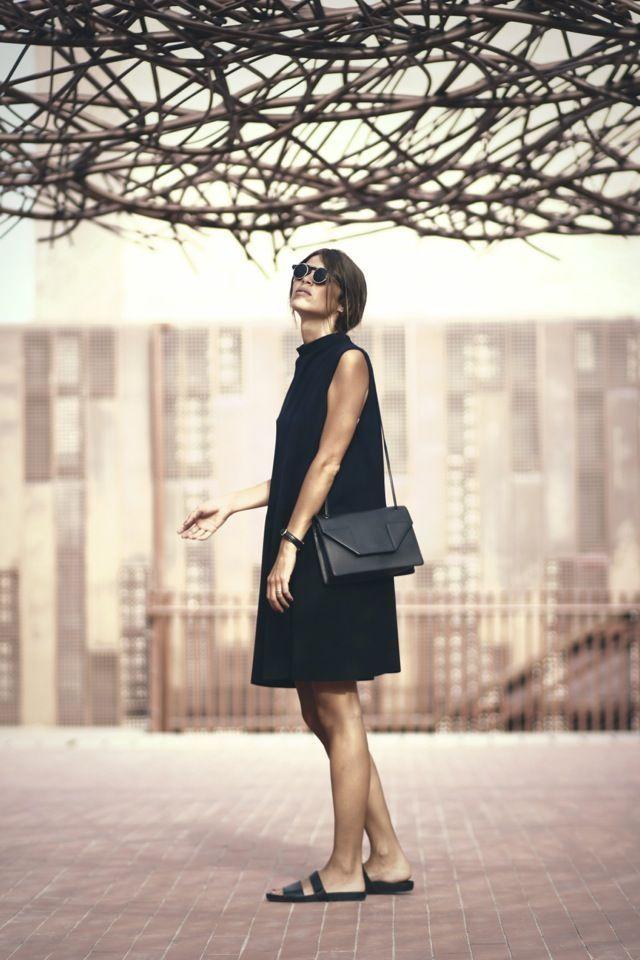 Schwarze Sommerkleider – Jutta