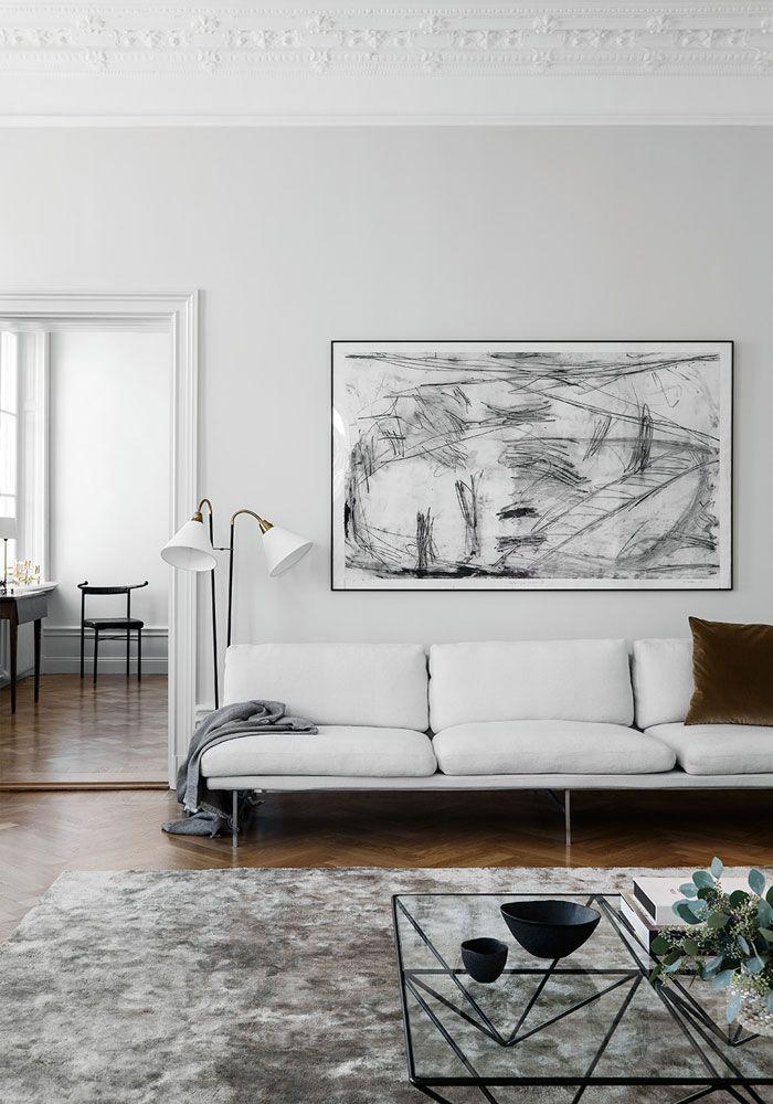 Swedish Minimalist Interiorliljencrantz Design  Interior Gorgeous Living Room Minimalist Design Review