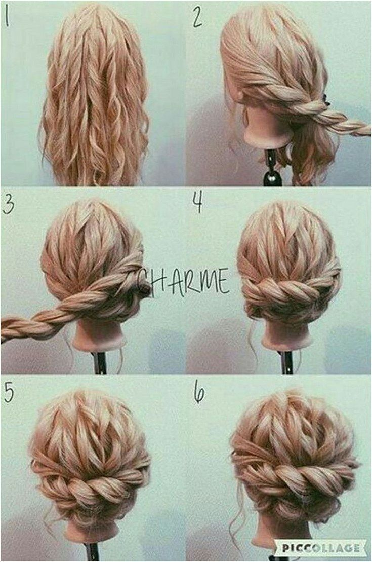 Cute fantastic updo for long hair ideas that can make you look