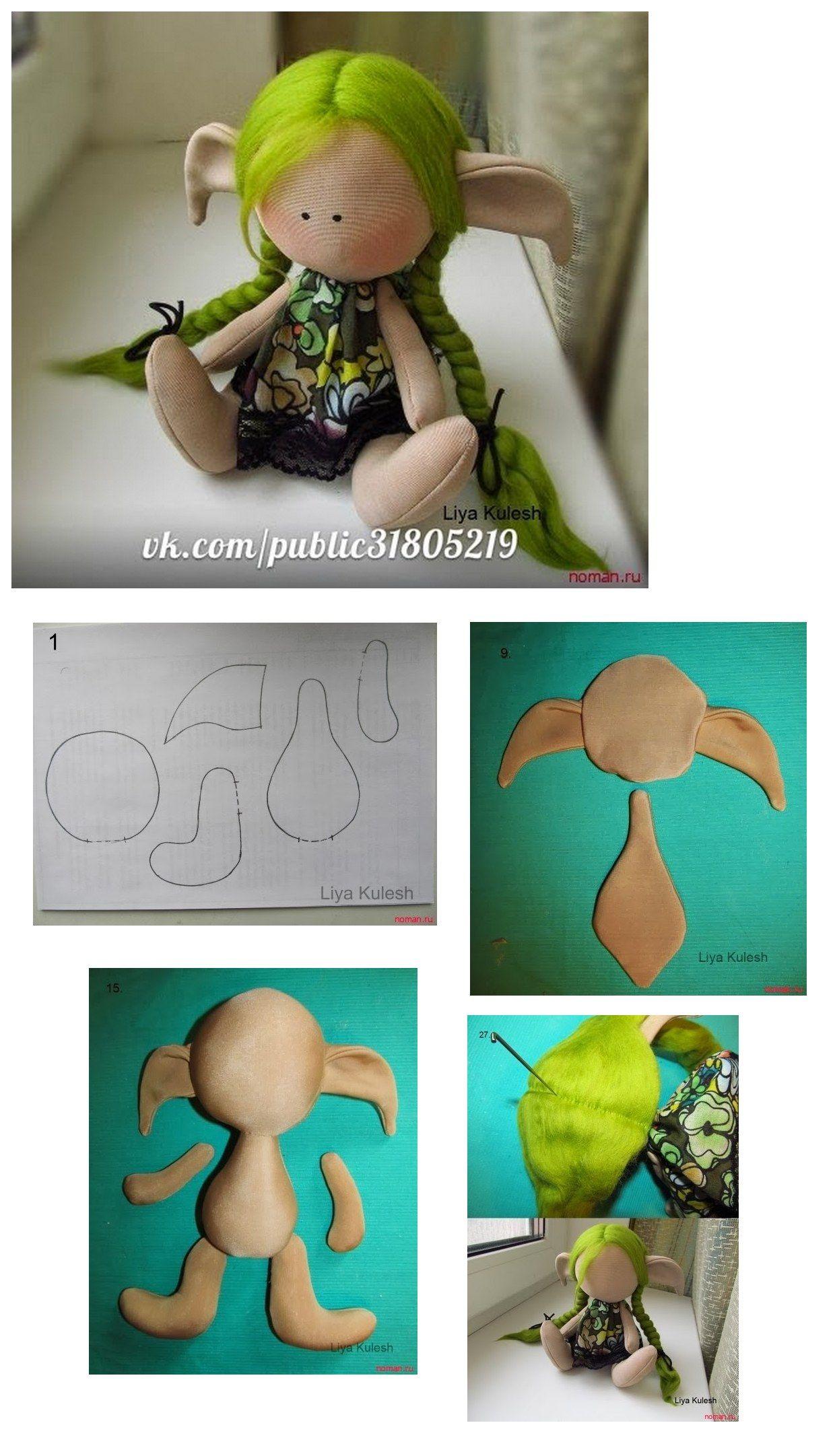 Ragdoll - free pattern / | nähen | Pinterest | Puppen, Nähen und ...