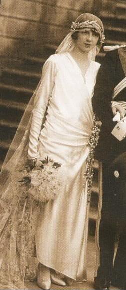 Princess Mafalda of Savoy (1925) Very beautiful bride.