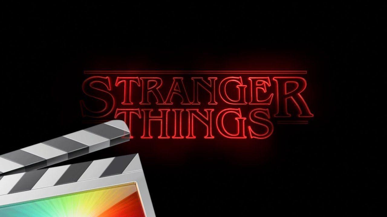 Stranger Things Title Tutorial - Final Cut Pro X | Text