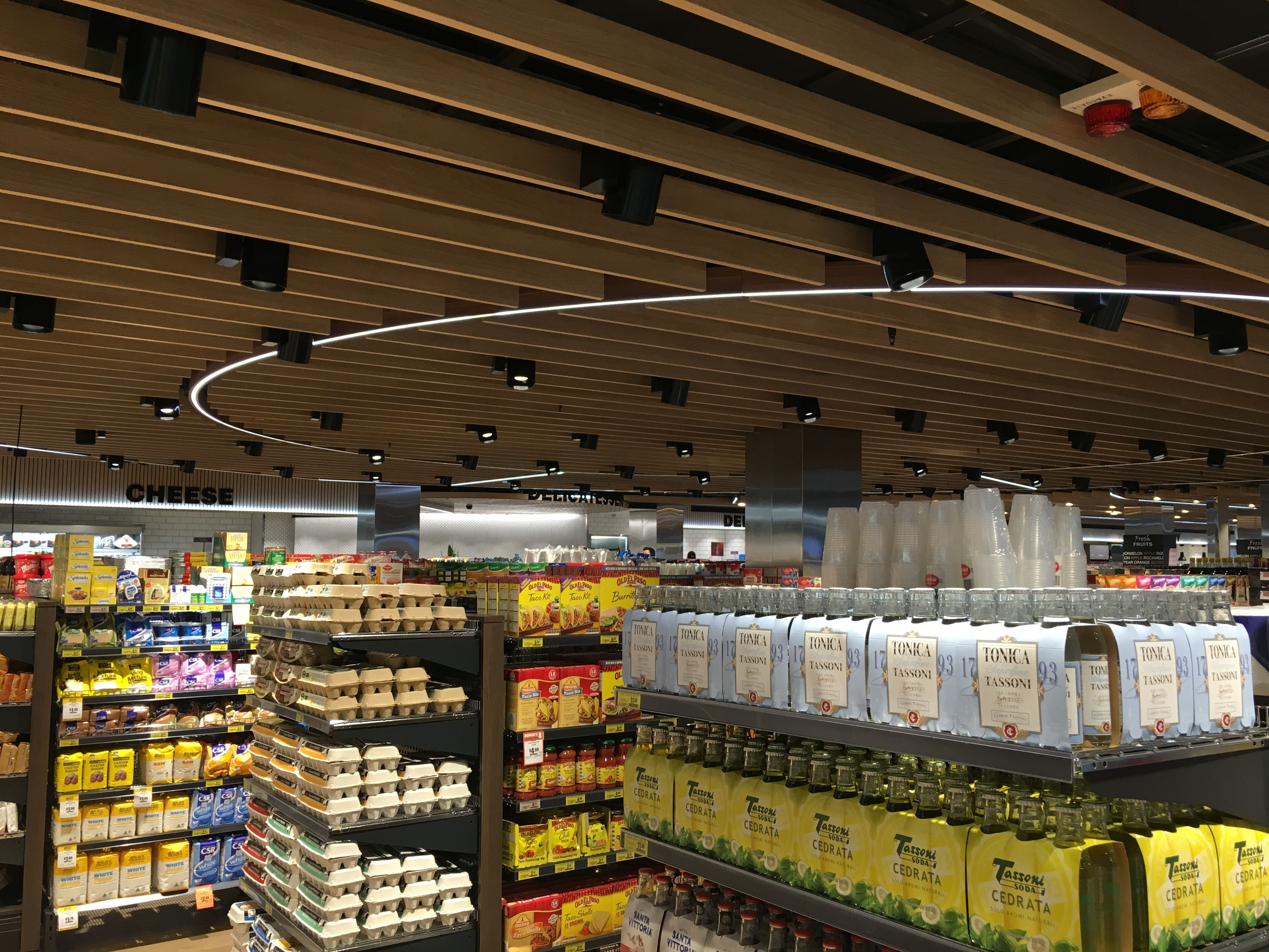 Retail Lighting Stores Sydney Xicato At Iga Supermarket At Mlc Centre Sydney With