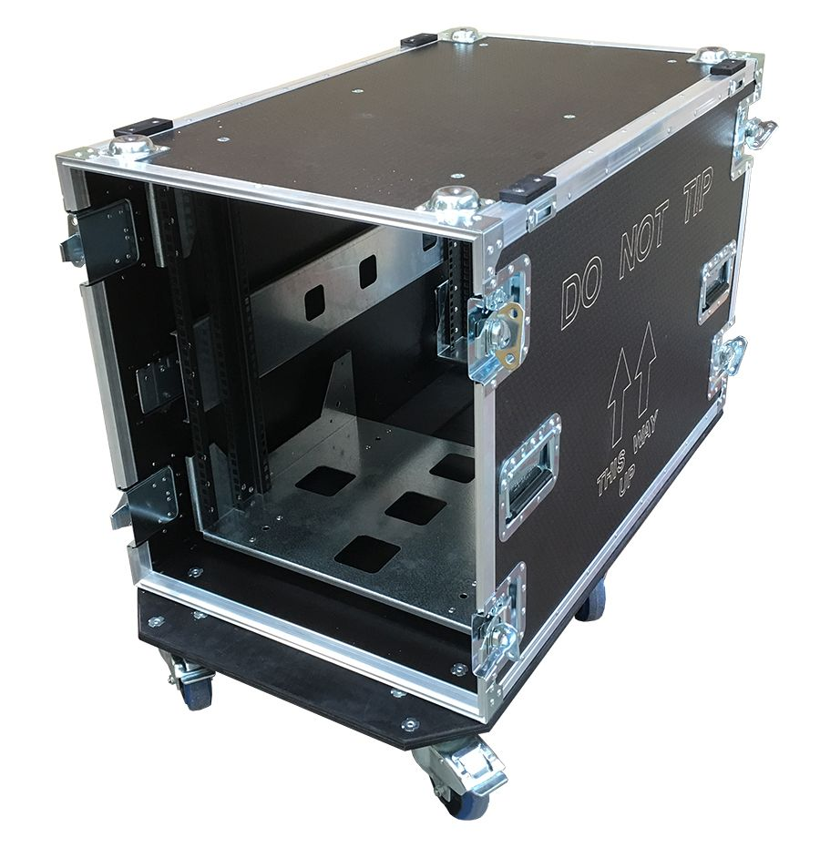 12u Rack Case 800mm Deep With Metal Sleeve 12u Rack Rack Case