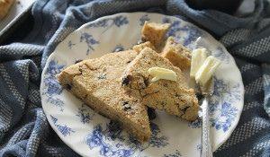 Wild blueberry orange scones :http://www.runningtothekitchen.com/wild-blueberry-orange-scones/