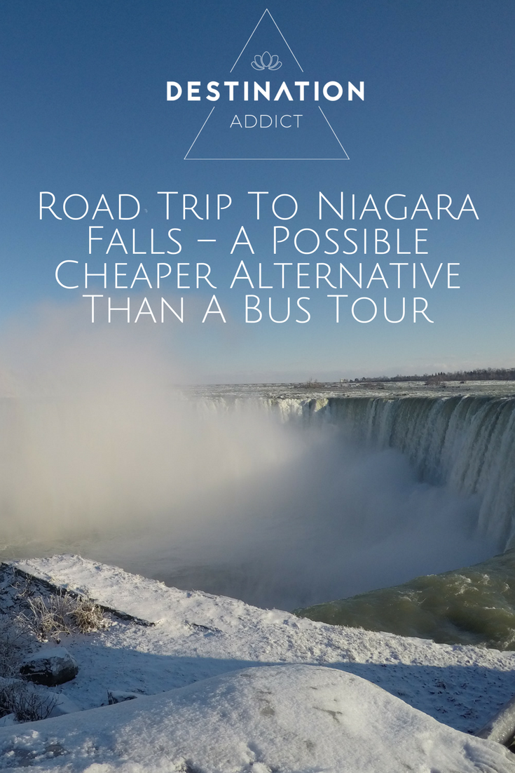 Road Trip To Niagara Falls – A Possible Cheaper Alternative Than A Bus Tour. When my boyfriend Adam & I  first arrived in Toronto we thought the best way to see Niagara Falls would be by bus tour, we took a look around & found tours for 70 CAD plus per person & then suddenly thought maybe hiring a car would be cheaper. We looked online & a car was coming in at 29 CAD, even with insurance this was going to work out much more cost-effective so we booked it to pick up the next morning....