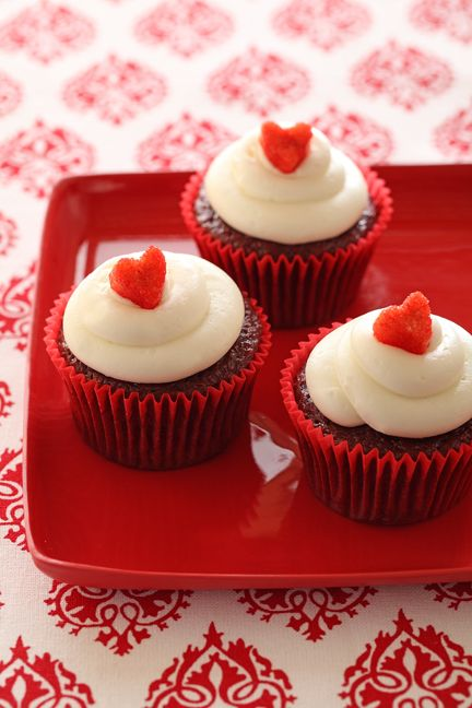 Moist Chiquita Banana Red Velvet Cupcakes Recipe Cupcakes