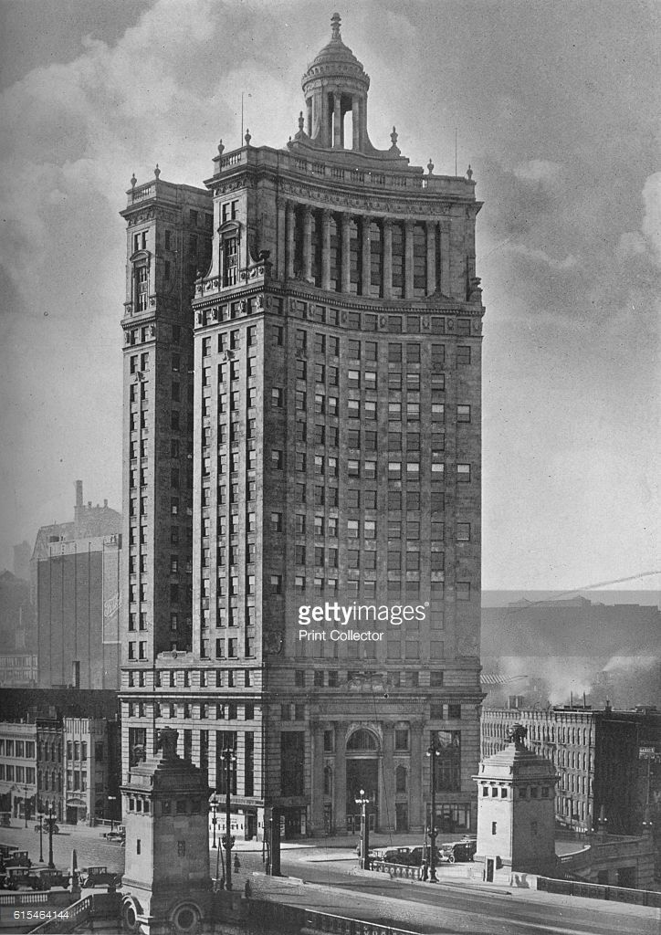 London Guarantee Accident Building Chicago Illinois 1924
