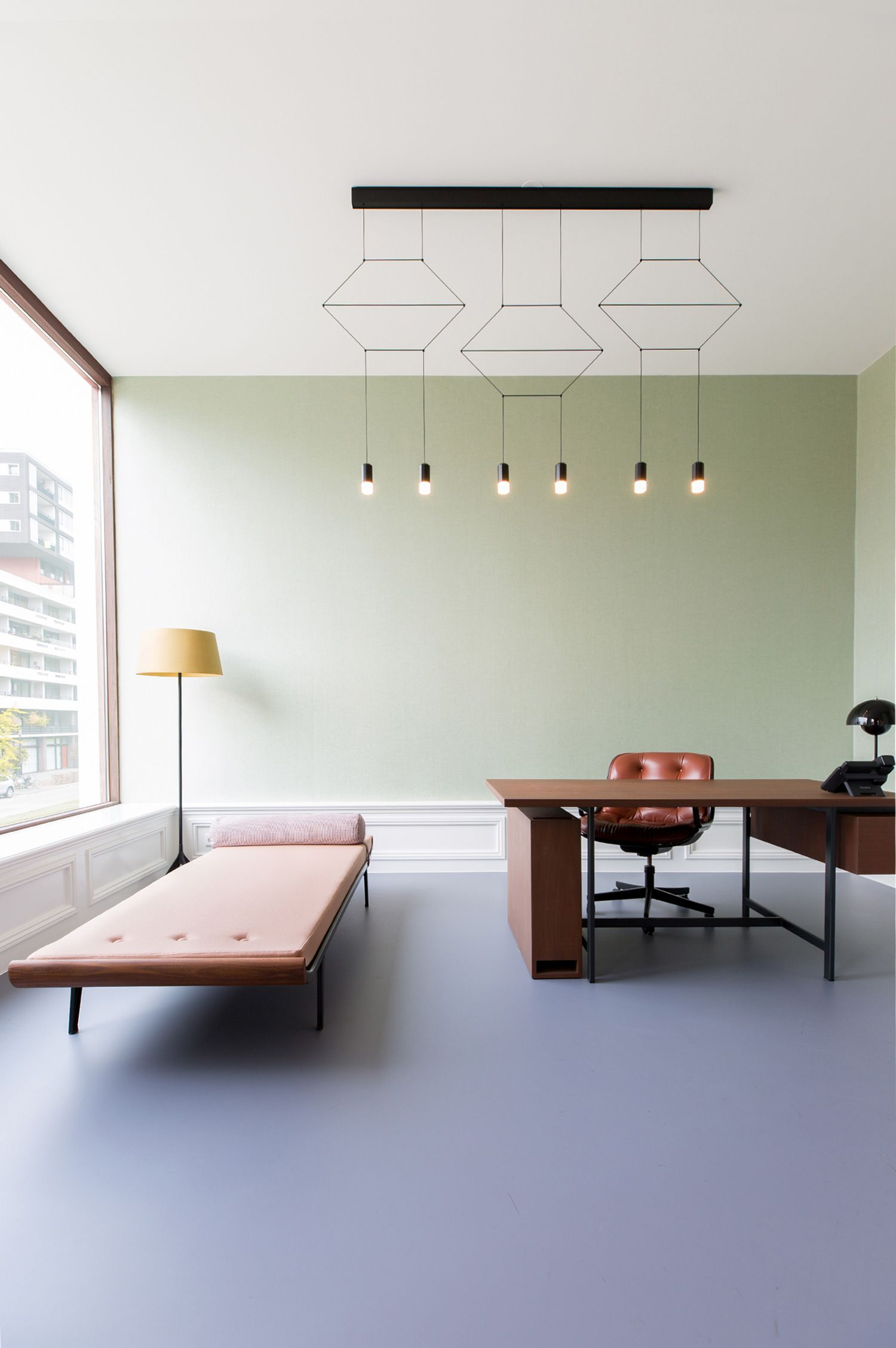 Bridgevest office by studio tomorrow set in a renovated historic building in rotterdam yellowtrace