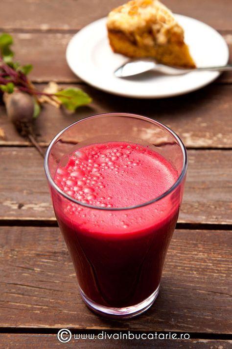 Sucuri de sfecla rosie: cu ce poti combina sfecla pentru un suc delicios