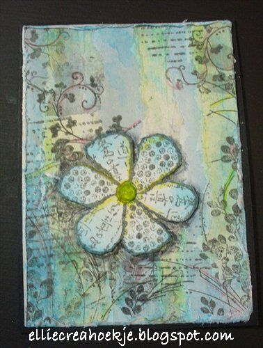 By Ellie Knol Dt Magenta Art Journaling Art Journal