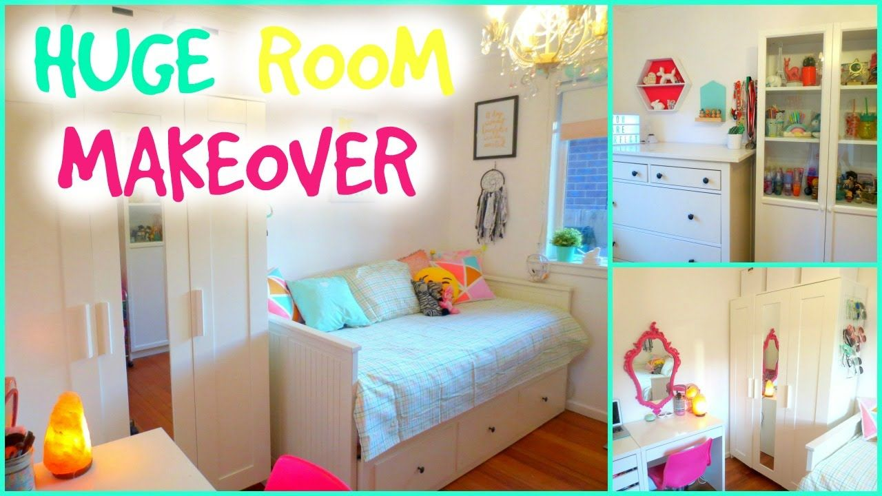 Room Makeover Ideas amazing room makeover for teenagers | small bedroom makeover