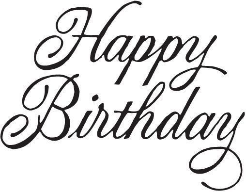 11 Writing Ideas Happy Birthday Cards Happy Birthday Lettering Lettering