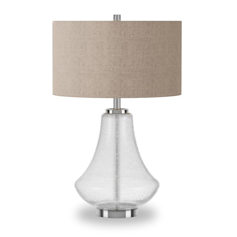 Hudson Canal Lagos Table Lamp Table Lamp Silver Table Lamps