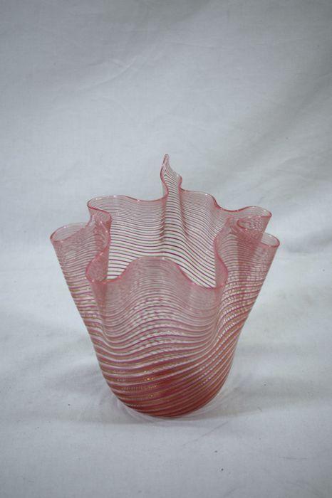 Attributed to Fratelli Toso (Murano) - Fazzoletto vase