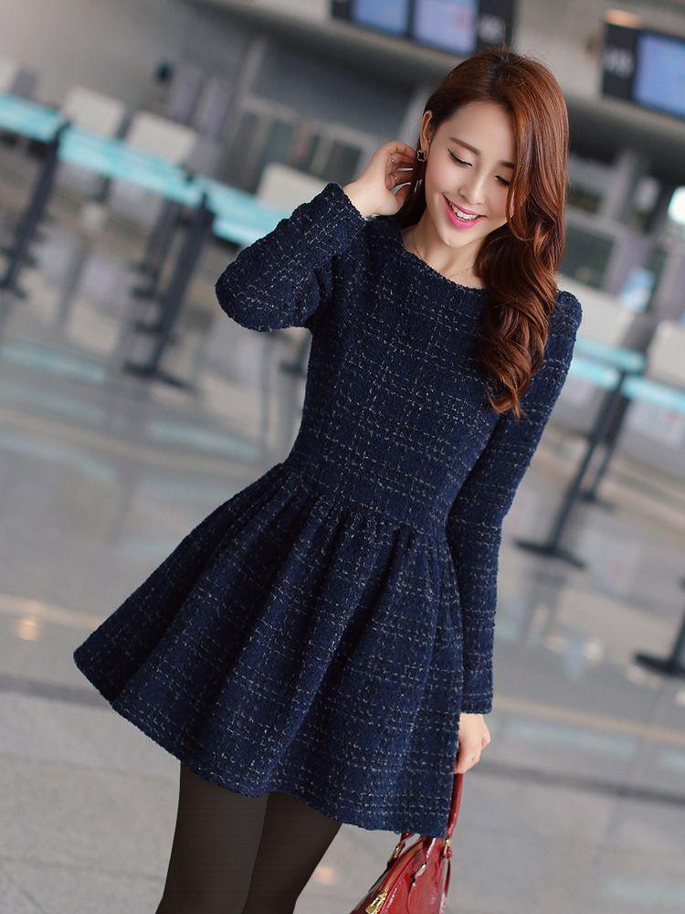 Casual Dress - para fazer!! | 3,2,1... Sew | Pinterest | Korean ...