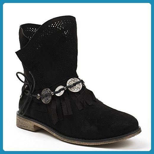 Ideal Schuhes, Schuhes, Schuhes, Damen Stiefel & Stiefeletten , schwarz schwarz ... 43f1c3