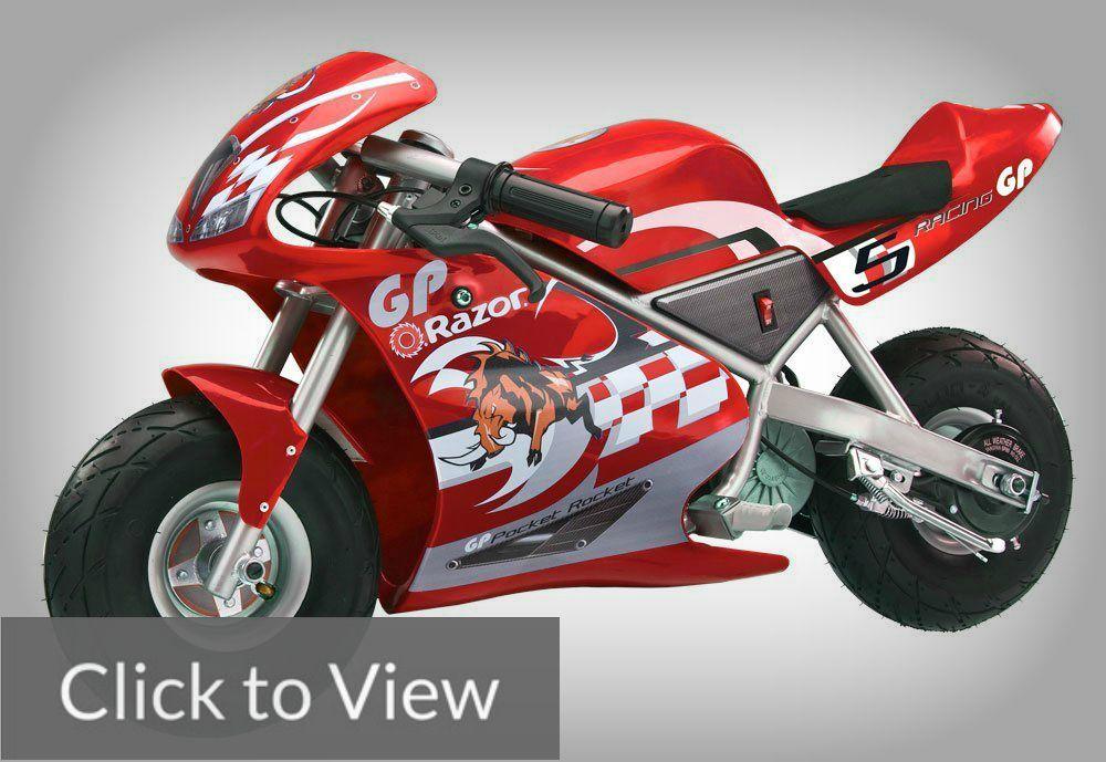 Razor Pocket Rocket Miniature Electric Bike Best For Street