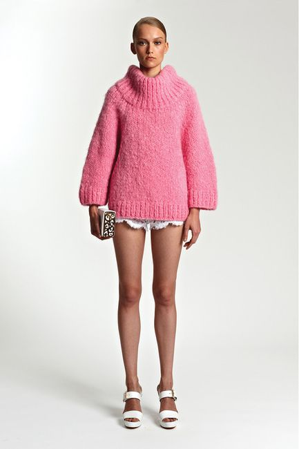 michael kors pink turtle neck sweater - Google Search