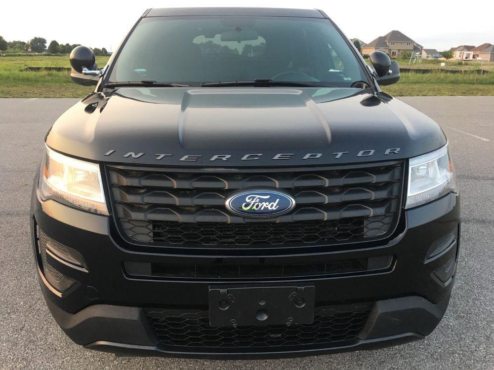2018 Ford Explorer Police Interceptor Ford Explorer Interceptor Ford