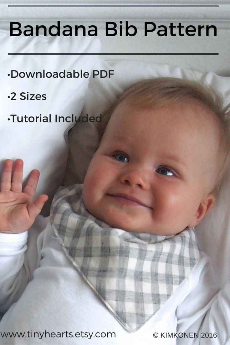 Bandana bib pdf pattern tutorial digital download by tinyhearts to bandana bib pdf pattern tutorial digital download by tinyhearts baditri Images