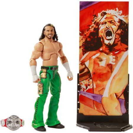 WWE Mattel Elite Collection 58 Matt Hardy Wrestling Figure