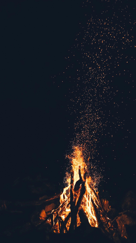 Bonfire IPhone Wallpaper 1