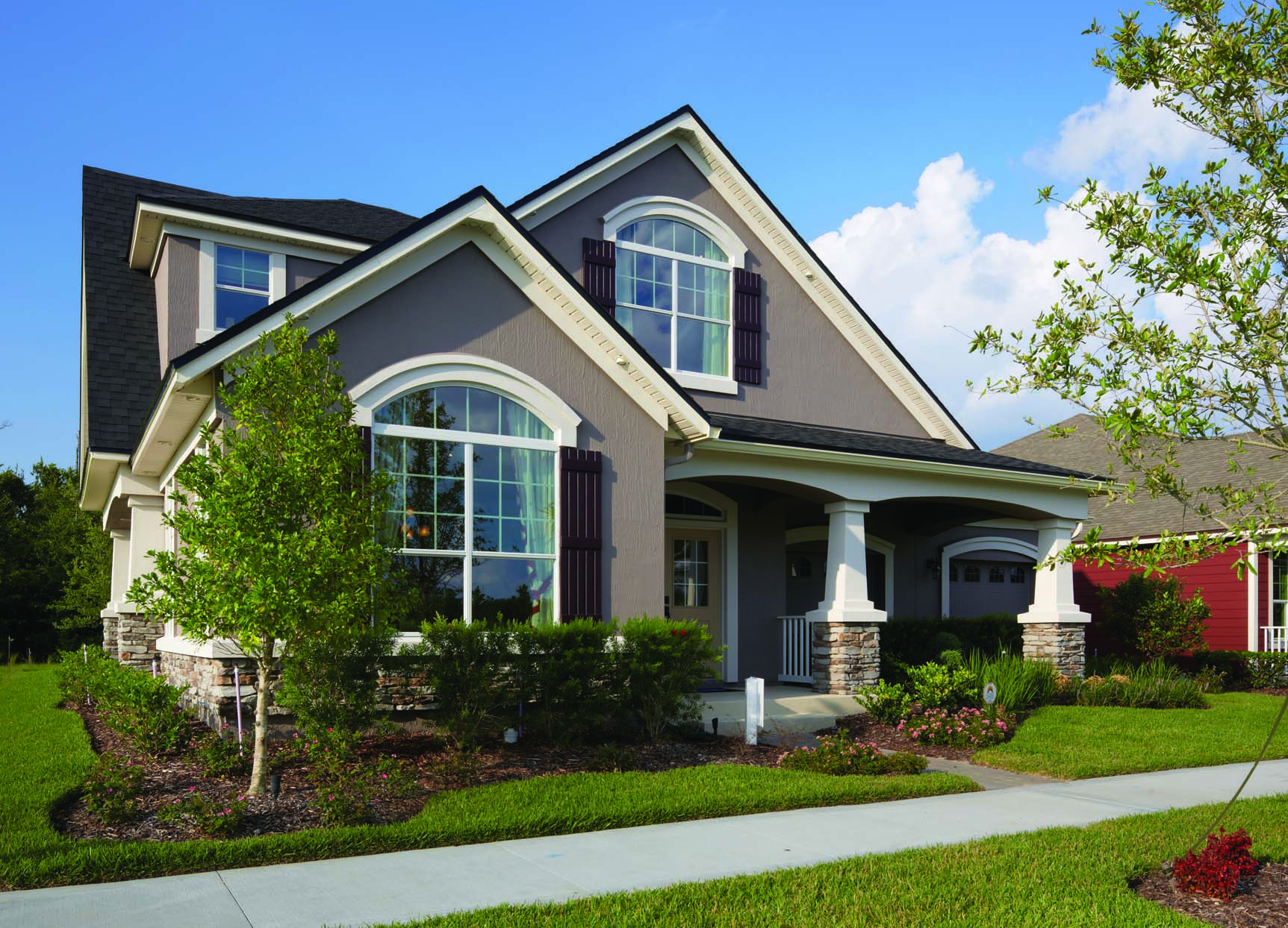Our periwinkle model in rivertown mattamy jacksonville for Mattamy homes