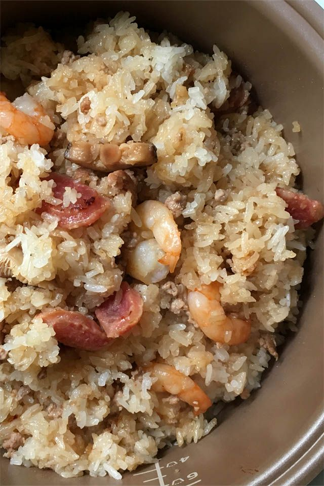 Rice Cooker Chinese Sticky Rice | A DAY IN THE KITCHEN