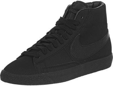 Nike Blazer Mid VNTG chaussures noir | Nike blazer, Chaussures ...