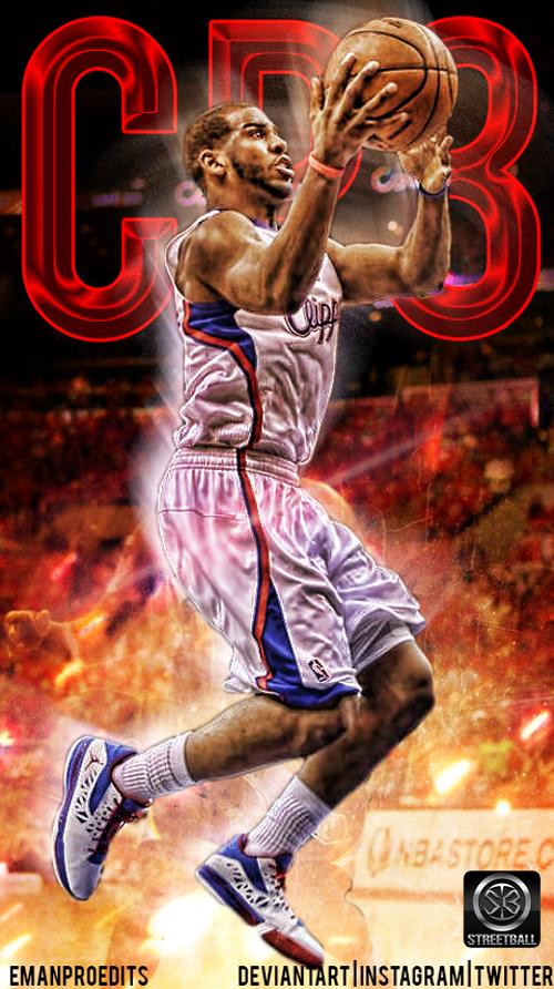 Chris Paul Clippers iPhone Wallpaper  eeb968e4b