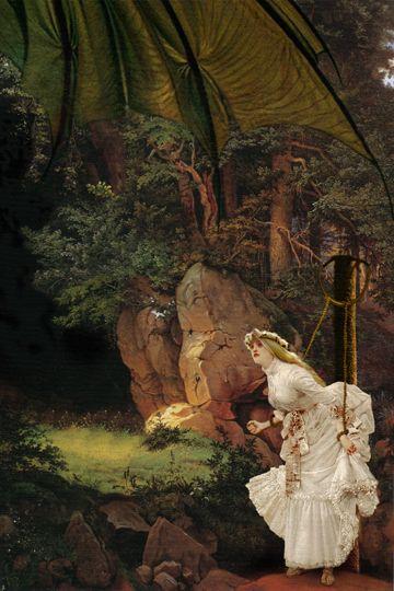 Book boudoir erotic fairy story tale womans