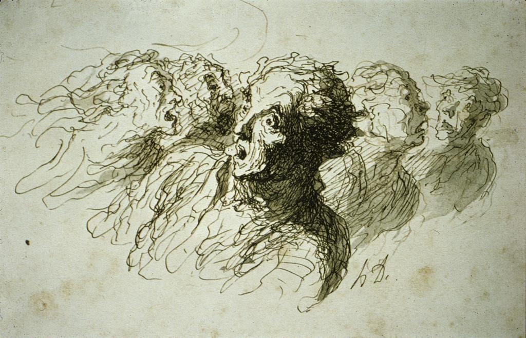Resultado de imagen de daumier ink