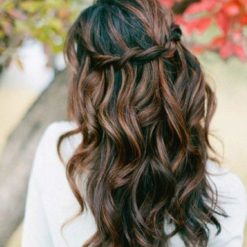 60 Looks with Caramel Highlights on Brown and Dark Brown ... - photo #7