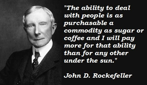 John D Rockefeller Quotes Business Inspiration Quotes Success