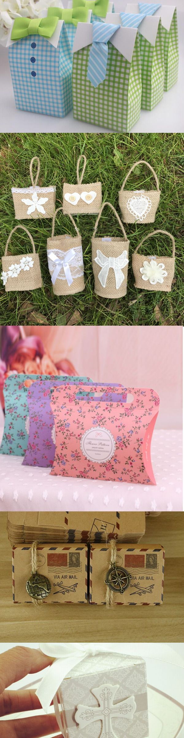 30+ Beautiful Wedding Candy Favor Boxes   Rustic wedding favors ...