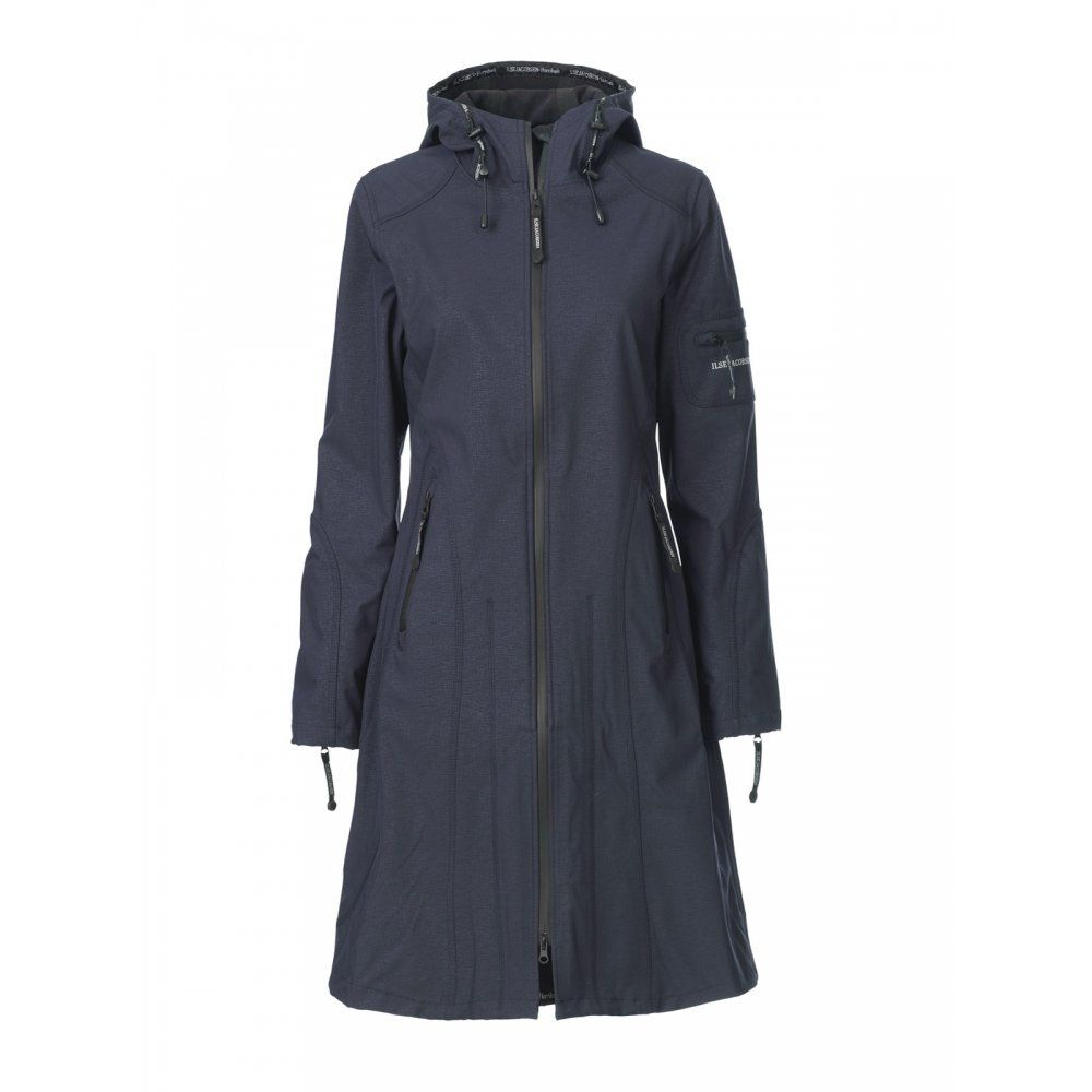 Ladies Long Waterproof Jacket - Pl Jackets