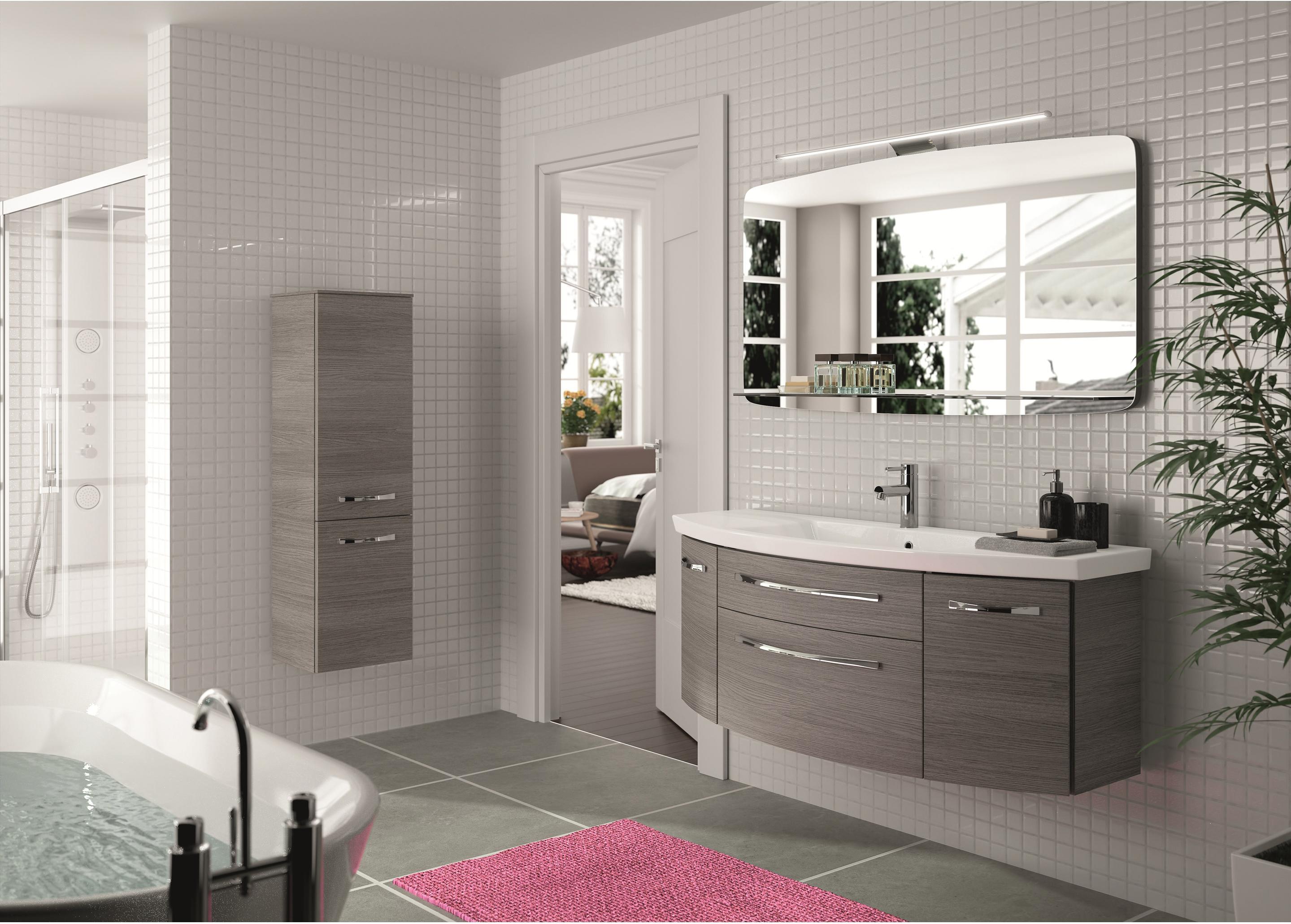 Meuble Simple Vasque L 129 X H 48 2 X P 48 Cm Gris Graphite Image En 2020 Leroymerlin Salle De Bain Meuble Salle De Bain Et Meuble Haut Salle De Bain