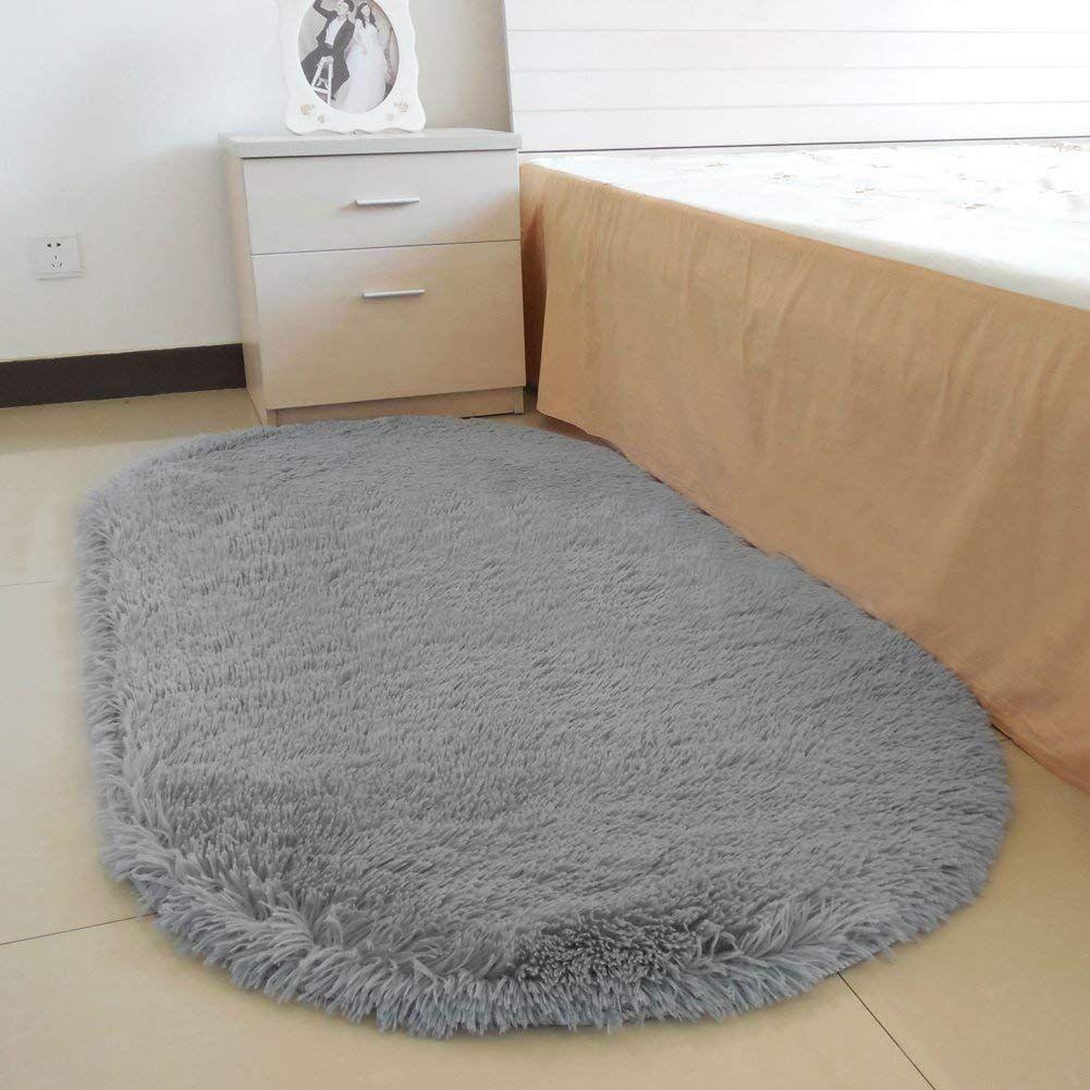 Amazon.com: YOH Fluffy Pink Area Rugs For Bedroom Girls Rooms Kids Rooms  Nursery Decor Mats 2.6u0027x5.3u0027: Home U0026 Kitchen