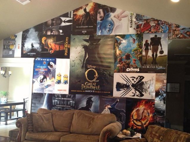 Movie Posters Wall