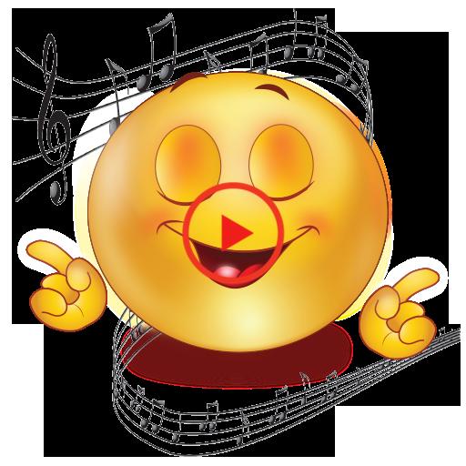 Download Free Emojis Smileys And Stickers In 2020 Music Emoji Funny Gif Emoji