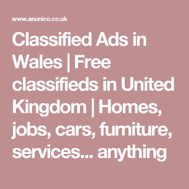 Free Kingdom United Classified Post In Ads