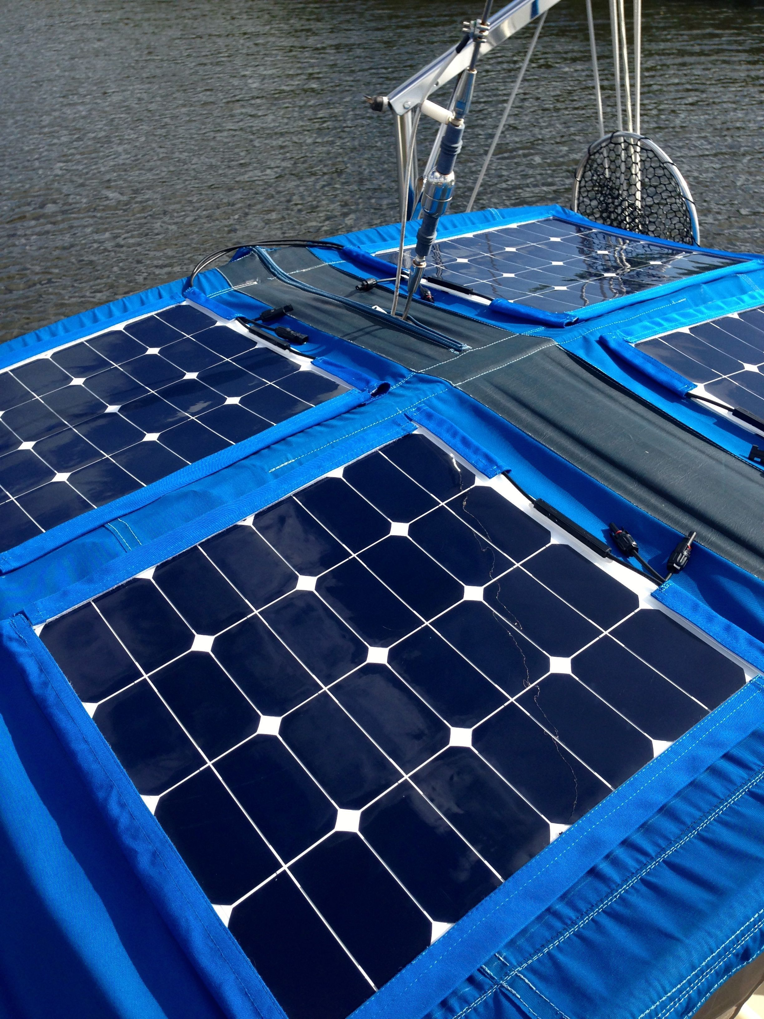 how to install solar panels on a sailboat for cheap boat stuff