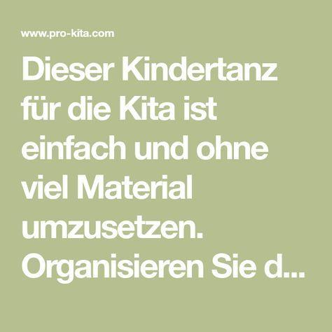 Photo of Kindertanz für die Kita