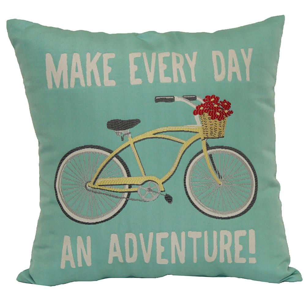 Square Word Pillow - Make Every Day an Adventure - Home - Home ... - Square Word Pillow - Make Every Day an Adventure - Home - Home Decor -  Pillows