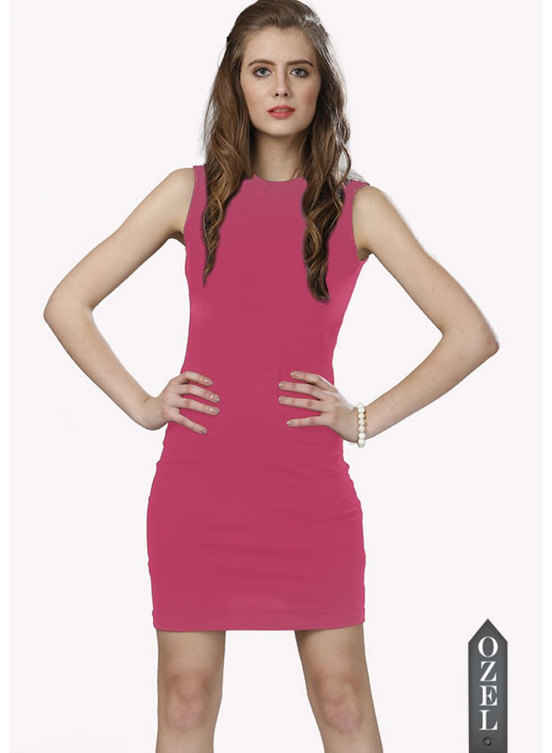 Pink Bodycon Dress by EAVAN | Valentines Day Special - Love for Red ...