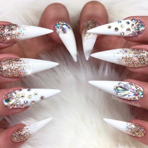 Photo of 34 BEAUTIFUL DESIGNS FOR STILETTO NAILS FOR A LATE NEW LOOK – Nageldesign & Nailart