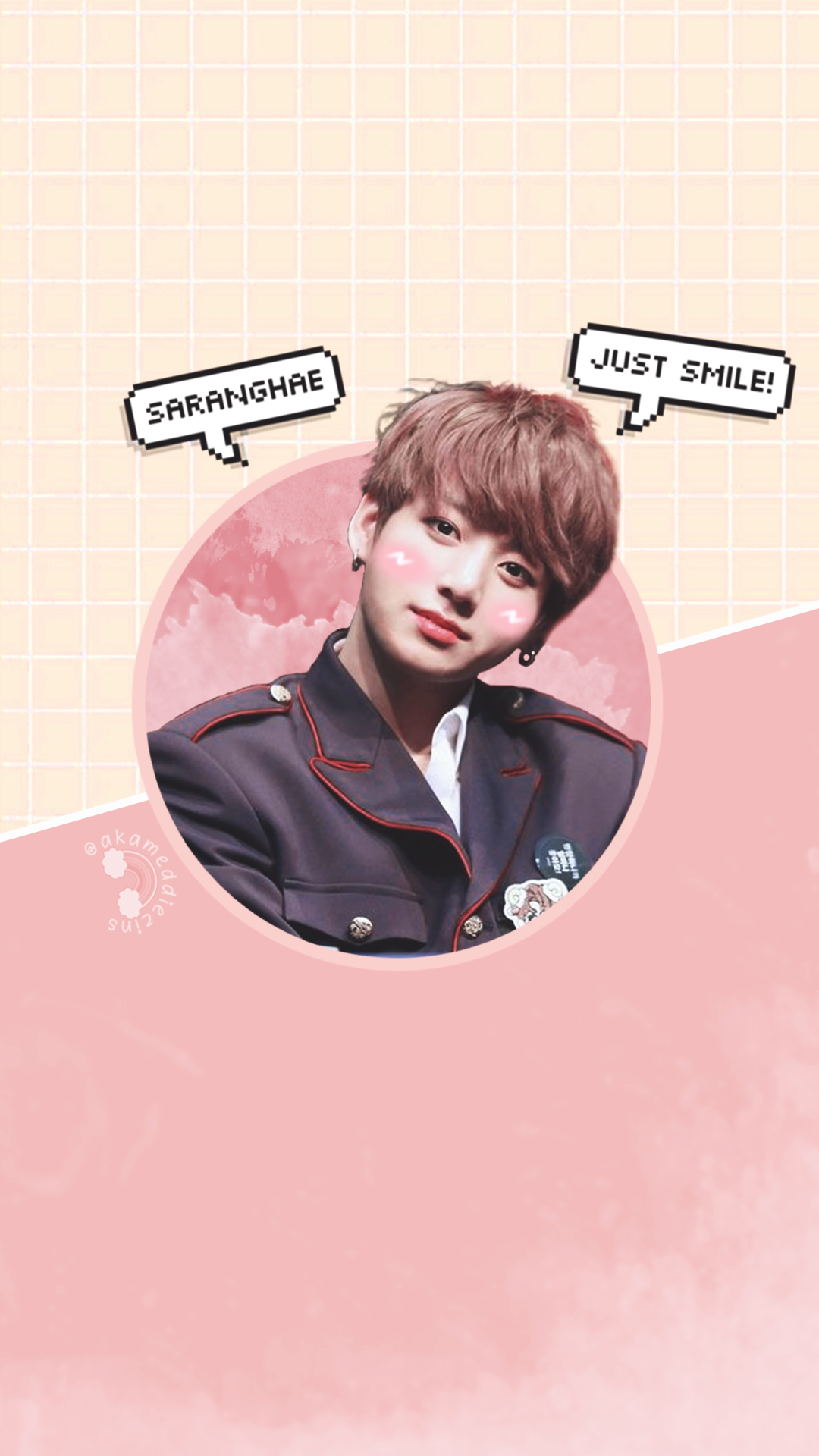 Jeon Jungkook Kookie Cute Bts Wallpaper Lockscreen Bts In
